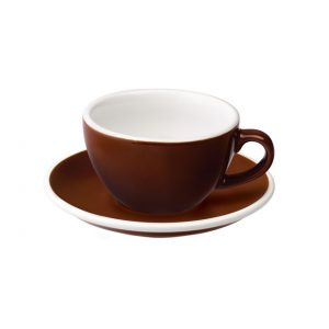 Taza Para Capuccino Marrón 200ml Egg Loveramics Coffeetech