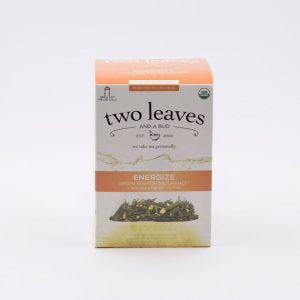 Té Orgánico Energize Two Leaves Tea Coffeteech