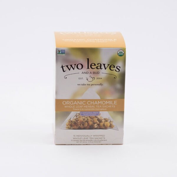 Té Orgánico Chamomile Two Leaves Tea Coffeetech