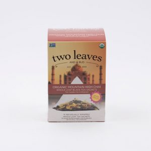 Té Orgánico Mountain High Chai Two Leaves Tea Coffeetech