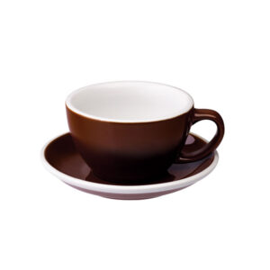 Taza Para Café Latte Marrón Loveramics Coffeetech