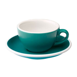 Taza Flat White Turquesa 150ml Loveramics Coffeetech