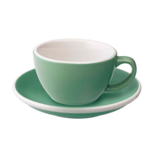Taza Flat White Verde Menta 150ml Loveramics Coffeetech