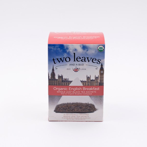 Té Negro Orgánico English Breakfast Two Leaves Tea